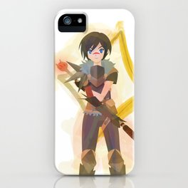 Dragon Age - Hawke of Diamonds [Card Suit Series] iPhone Case