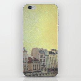 Paris Row iPhone Skin