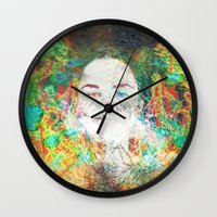 serenity Wall Clocks featuring Serenity by J.Lauren