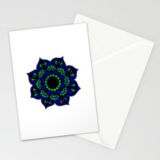 Peacock flower | Mandala Stationery Cards