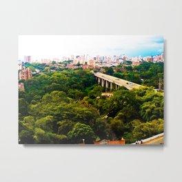 Green Santander. Metal Print
