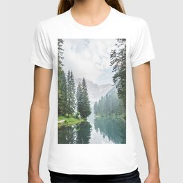 Forest Reflection in Italy T-shirt