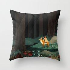Princess Mononoke tribute Throw Pillow