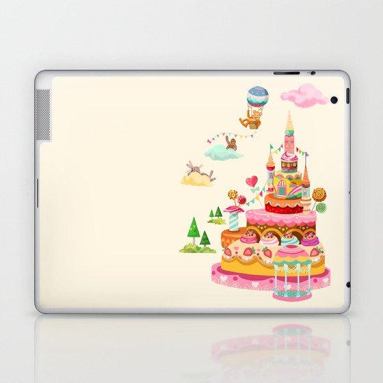 Ice Cream Castles In The Air Laptop & iPad Skin