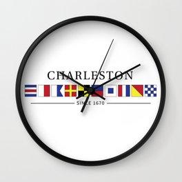 Charleston Wall Clock