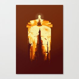 Day of the Doctor Canvas Print