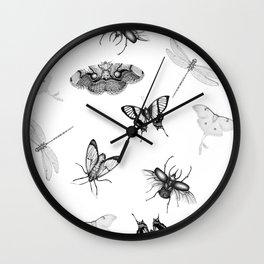 Entomologist Dreams Wall Clock