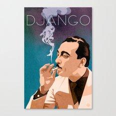 Django Reinhardt Canvas Print