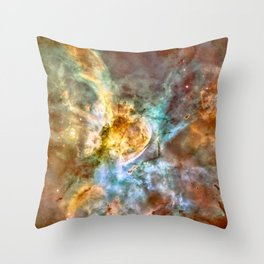 Star Birth in the Extreme Throw Pillow