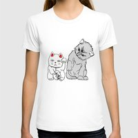 kittens T-shirts featuring Kittens by Larice Barbosa