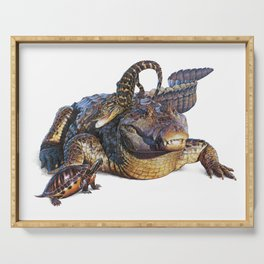 Reptile Fun Serving Tray