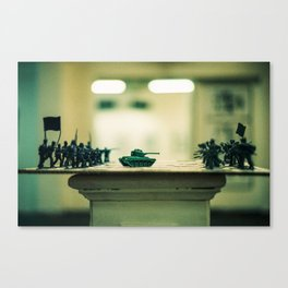 Chess Board Experiment Canvas Print