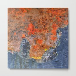 Colors of Rust / ROSTart Metal Print