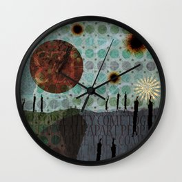 We Are All Made of Stars 251 Wall Clock