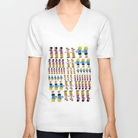 greg guillemin V-neck T-shirts featuring Greg + 2012 by Reid