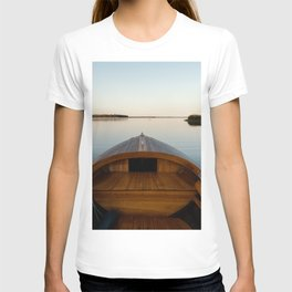 Summer Mornings On The Lake T-shirt