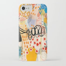 Wallpaper and Diamonds Part II iPhone Case