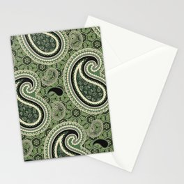 "Monster ""BOSS"" Green Stationery Cards"
