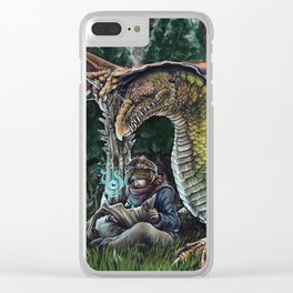 Lost Clear iPhone Case