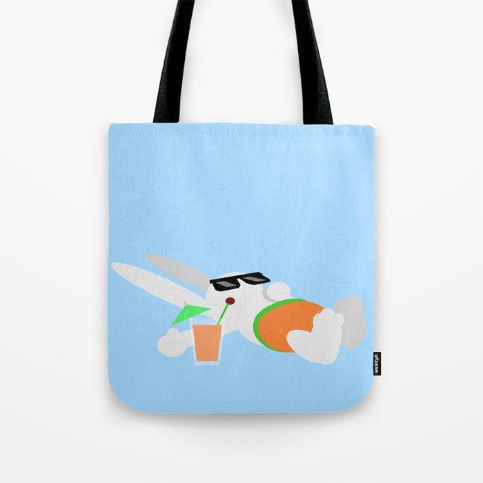 Sun Bun Beached Tote Bag