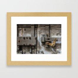 Safe Framed Art Print
