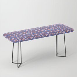 JUN - purple & pink Bench