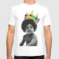 baby big White SMALL Mens Fitted Tee