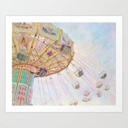 Summer Swings Art Print
