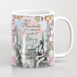 Excellent Library - Pride and Prejudice Coffee Mug