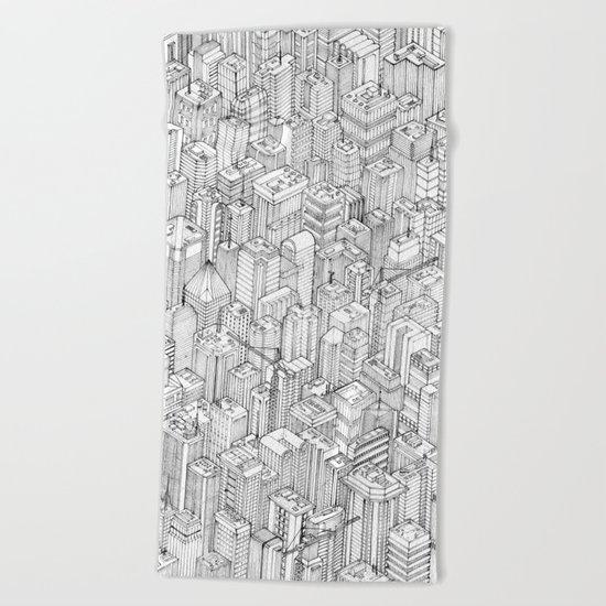 Isometric Urbanism pt.1 Beach Towel