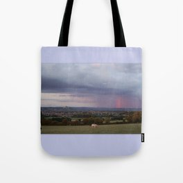 Magic Of Glastonbury Tor Tote Bag