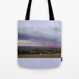 Magic Of Glastonbury Tor Tote Bag