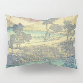 A Valley in the Evening Pillow Sham