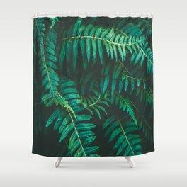 Ferns II Shower Curtain