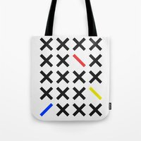 minimalism Tote Bags featuring Minimalism 3 by Mareike Böhmer