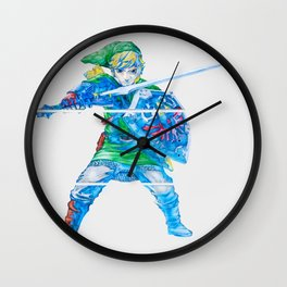 The Legend of Zelda Skyward Sword - Link Wall Clock