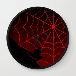 Spider Twilight Series - Miles Morales Spider-Man Wall Clock