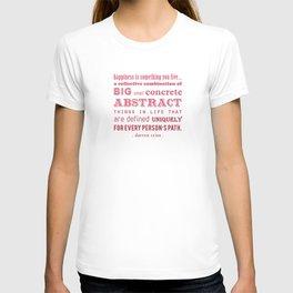 Happiness (Darren Criss) T-shirt
