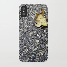 Where I Fell iPhone X Slim Case