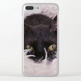 SALEM Clear iPhone Case