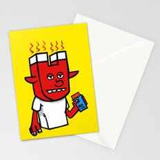 enigmatic todd Stationery Cards