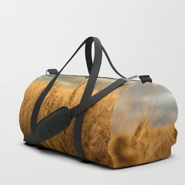Harvest Time - Golden Wheat in Colorado Field Duffle Bag