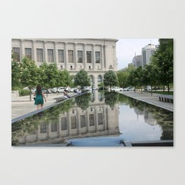 Philly by the Barnes Canvas Print