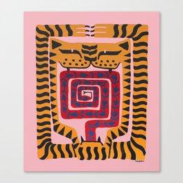 The Anguish Canvas Print