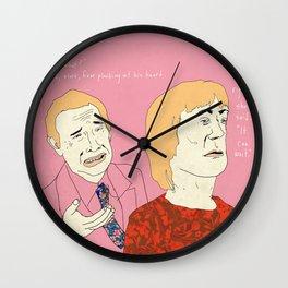 Carver #1 Wall Clock