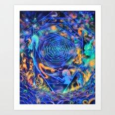 Photrons Art Print
