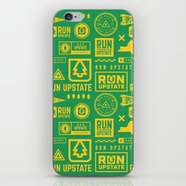 Run Upstate iPhone Skin