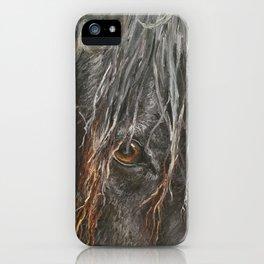 Horse's Eye iPhone Case