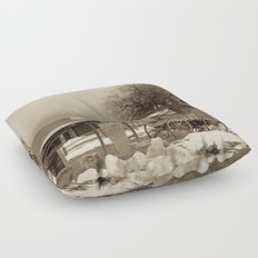 Cowboys Mess Hall Floor Pillow