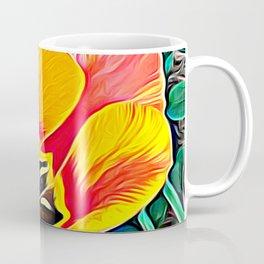 Flower in Expressive Birth Coffee Mug